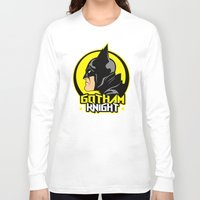 knight Long Sleeve T-shirts featuring Knight by Buby87