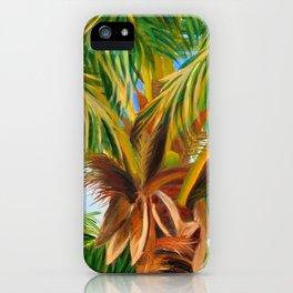 Majestic Palm iPhone Case