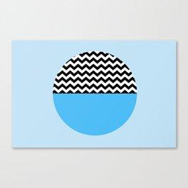 Moiety Blue Canvas Print