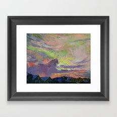Summer Evening Framed Art Print