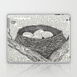 Lullaby of Birdland Laptop & iPad Skin