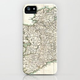 Vintage Map of Ireland (1771) iPhone Case