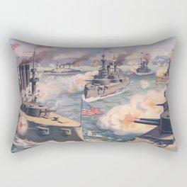 Cuban coast Rectangular Pillow
