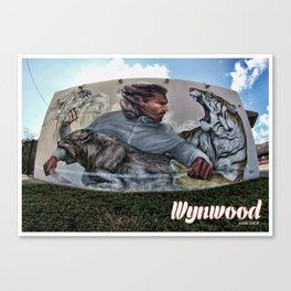 Wynwood Grafitty Canvas Print