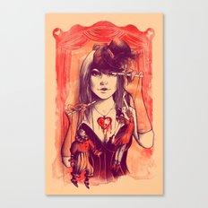 TAKE CONTROL Canvas Print