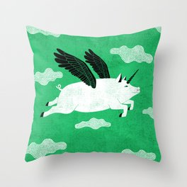 It´s always possible to reinvent yourself Throw Pillow