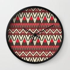 Tribal New World  Wall Clock
