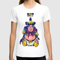 snorlax T-shirts featuring majin snorlax eat and sleep by yungdee13