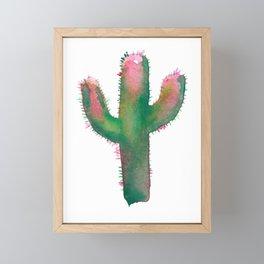 cactus one Framed Mini Art Print