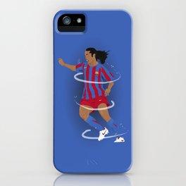 Ronaldinho - Barcelona FC iPhone Case