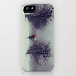 Trapped in Wonderland iPhone Case