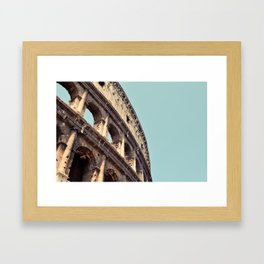 Postcards from Italy: Il Colosseo Framed Art Print