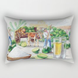 Los Limadores Rectangular Pillow