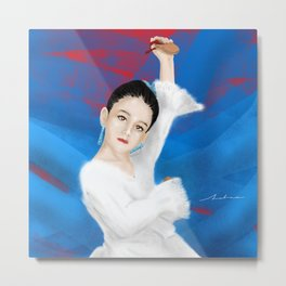 Little spanish girl Metal Print