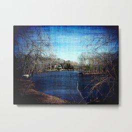 Lakeside Attraction Metal Print