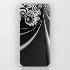 Black and White Fractal 15 iPhone & iPod Skin