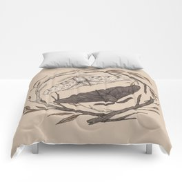 Peppered Moths Comforters