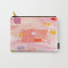 Put Sorrows In A Jar - abstract modern art minimal painting nursery Carry-All Pouch
