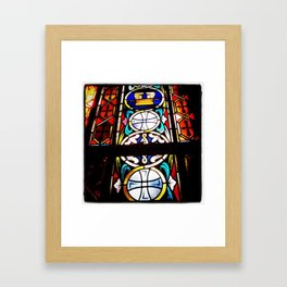 Stained Glass 1 Framed Art Print