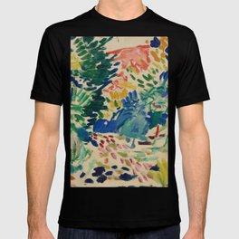 Landscape at Collioure - Henri Matisse - Exhibition Poster T-shirt
