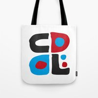 code Tote Bags featuring CODE by Apolo Arauz