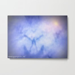 To Merge With Source Metal Print