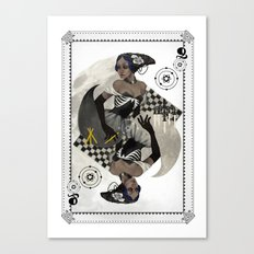 Queen of Carbon Canvas Print
