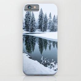 Dreamy Winterscape iPhone Case