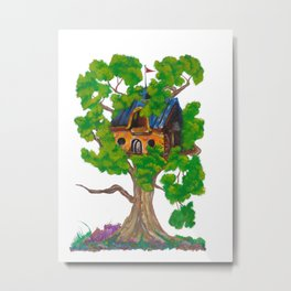 Treehouse III Metal Print
