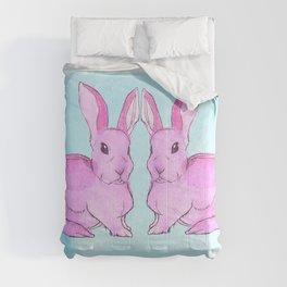 Pink Ink Comforters
