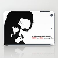 robin williams iPad Cases featuring Robin by Medieval_Siren