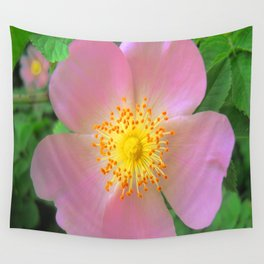 Spring Rose Hips Wall Tapestry