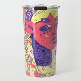 Angry medusa Travel Mug