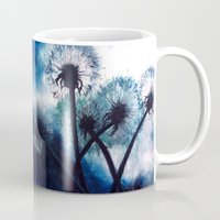 coconut wishes Mugs featuring Wishes by Lydia Martin