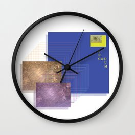 Young & Dumb Wall Clock