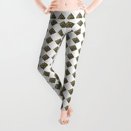 Celtic cross pattern Leggings