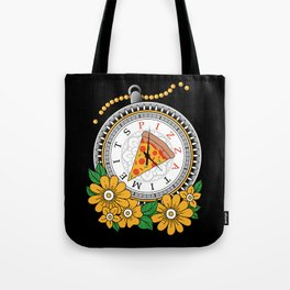 It's Pizza Time Tote Bag