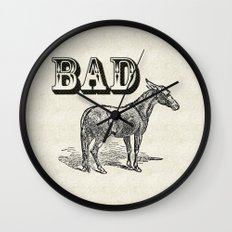 Bad Ass Wall Clock
