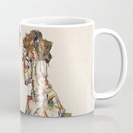 "Egon Schiele ""Devotion"" Coffee Mug"