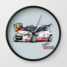 Abarth Punto S2000 Wall Clock