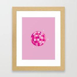 Disco Dreams Framed Art Print