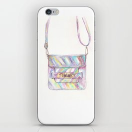 holographic bag iPhone Skin