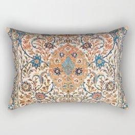 Isfahan Antique Central Persian Carpet Print Rectangular Pillow