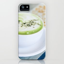 Tea Time With Matcha iPhone Case