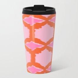 Ikat Diamond Travel Mug