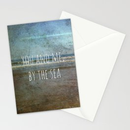 You and me, by the sea Stationery Cards