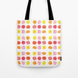 9 watercolor roses Tote Bag