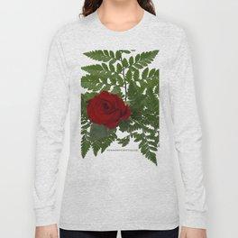 Rose in Winter Long Sleeve T-shirt