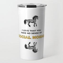 Social Norms Travel Mug