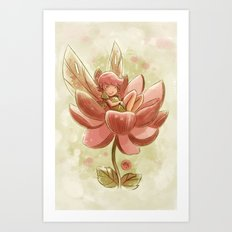 Goblins Drool, Fairies Rule! - Petal Flower Art Print